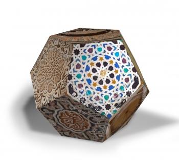 Dodekalender Maurische Ornamente 2018 - Juni
