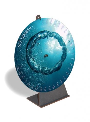 Kalender Wasser 2019, September
